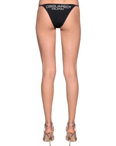 Czarny bikini Dsquared2