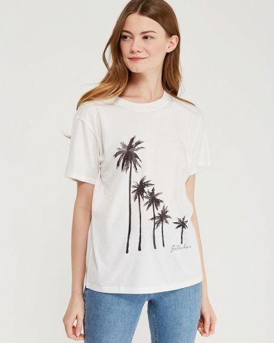 Белая футболка индийская Billabong