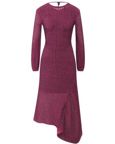 Платье розовое шелковое Chloé