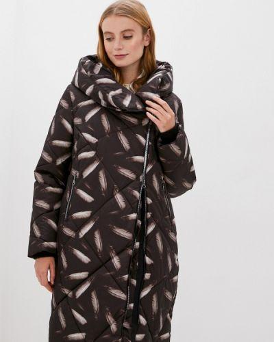 Черная теплая куртка Dixi Coat