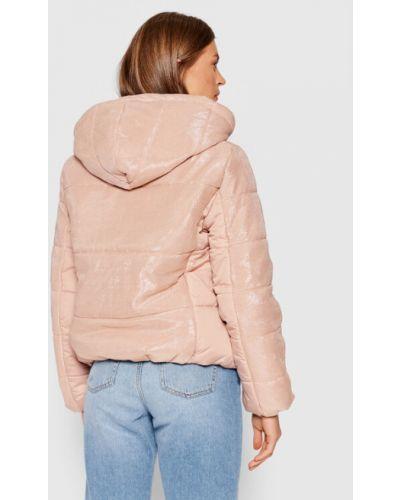 Różowa kurtka puchowa Liu Jo Sport
