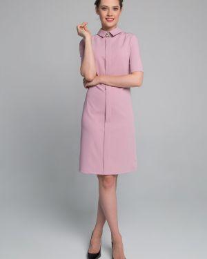 Платье мини платье-сарафан с воротником Sezoni