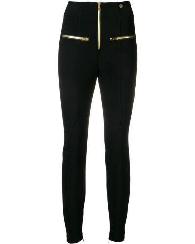 Черные леггинсы Versace Collection