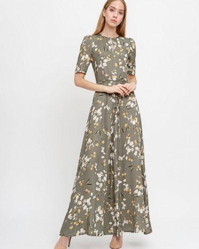 Платье прямое зеленый Bizzarro