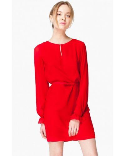 Платье весеннее красный Nai Lu-na By Anastasia Ivanova