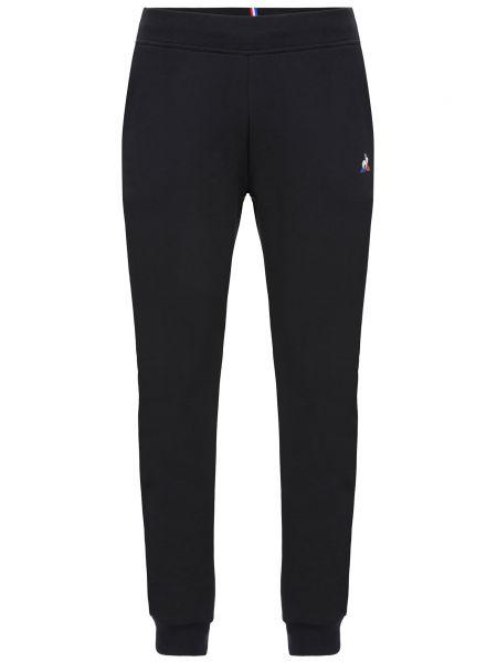Спортивные брюки из полиэстера - черные Le Coq Sportif