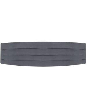 Шелковый серый ремень Brioni