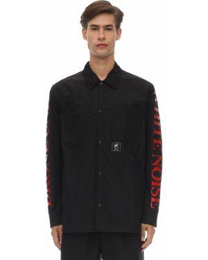Klasyczna czarna klasyczna koszula oversize Mcq Alexander Mcqueen