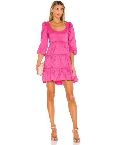 Różowa sukienka z nylonu Likely