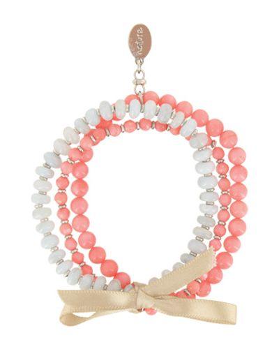 Розовый браслет Nature Bijoux