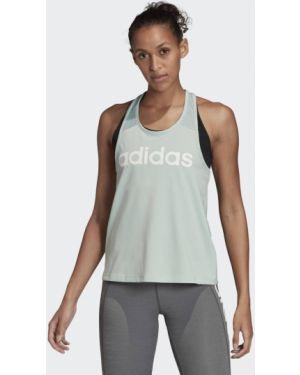 Топ с V-образным вырезом футбольный Adidas