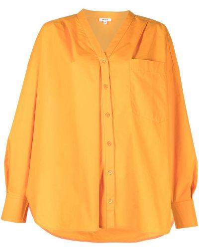 Koszula zapinane na guziki - pomarańczowa Enfold