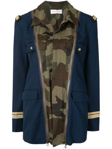Куртка милитари на молнии Faith Connexion