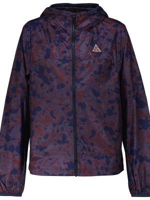 Куртка с капюшоном - фиолетовая Nike