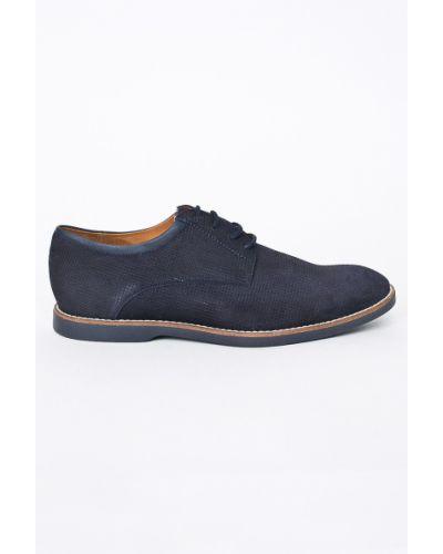 Туфли на шнуровке текстильные Gino Rossi