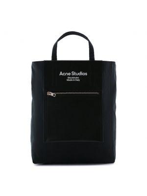 Синяя итальянская сумка Acne Studios