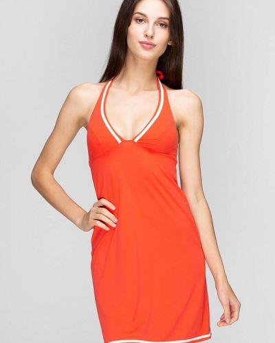 Пляжное платье - оранжевое Huit