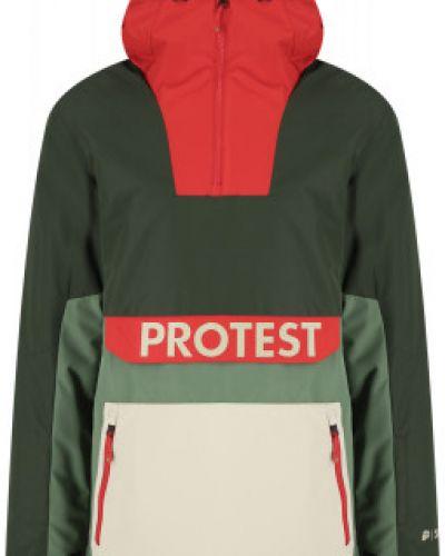 Зеленая зимняя куртка Protest