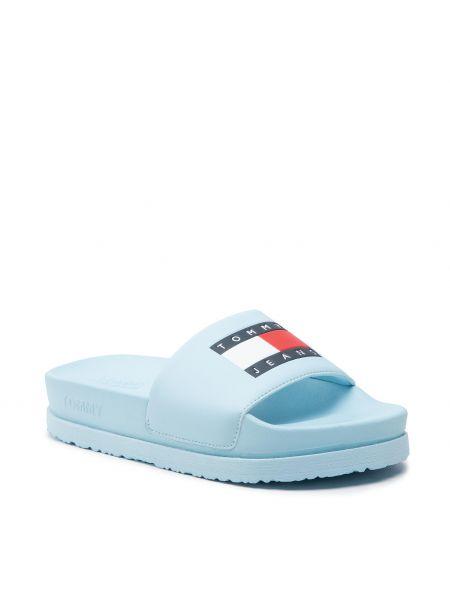 Niebieskie sandały na basen Tommy Jeans