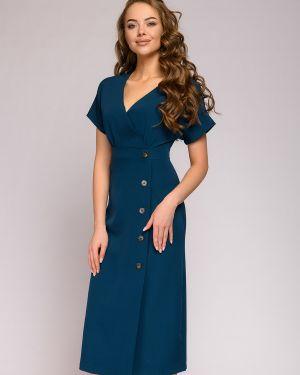 Повседневное платье с запахом на молнии 1001 Dress