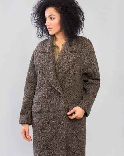 Пальто - коричневое Maxa