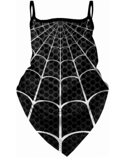 Czarna bandana materiałowa Mr. Gugu & Miss Go