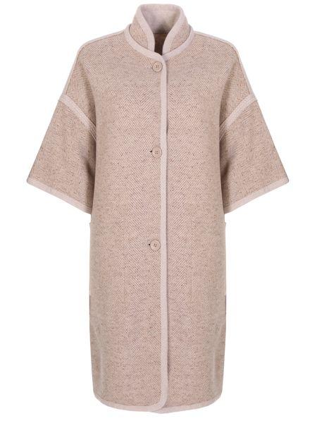 Кашемировое пальто - бежевое Agnona