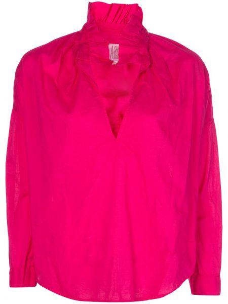 Розовый топ с воротником A Shirt Thing