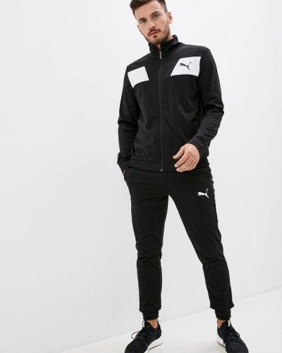 Черный костюмный спортивный костюм Puma