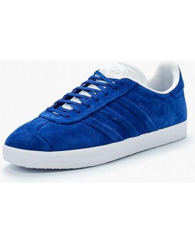 Синие низкие кеды Adidas Originals