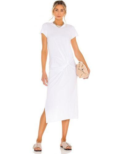Хлопковое платье - белое Nsf