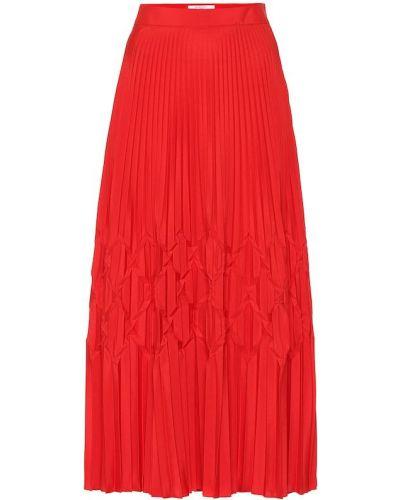 Плиссированная юбка миди пачка Givenchy
