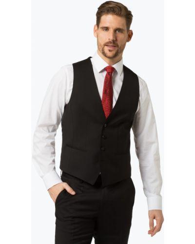 Czarna kamizelka elegancka Boss
