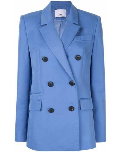 Синий удлиненный пиджак на пуговицах Camilla And Marc