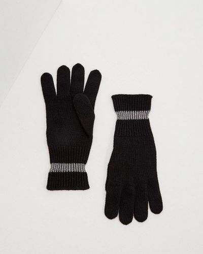 Черные перчатки Ice Play
