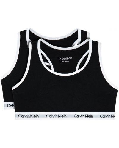 Biustonosz - czarny Calvin Klein Underwear