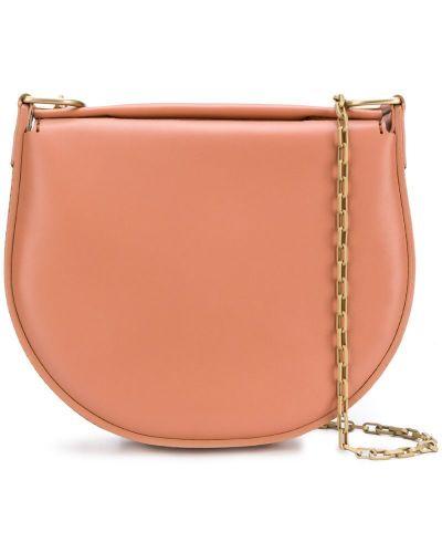 Кожаная сумка на плечо с клапаном Stiebich & Rieth