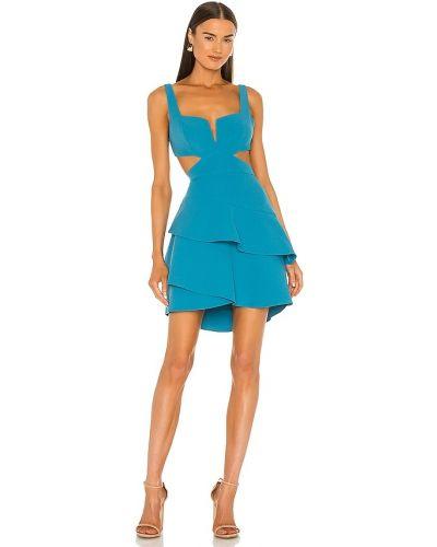 Niebieska sukienka mini Bcbgmaxazria