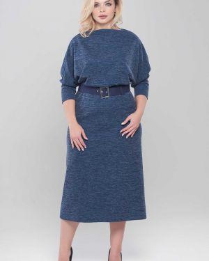 Платье в рубчик платье-сарафан Mari-line