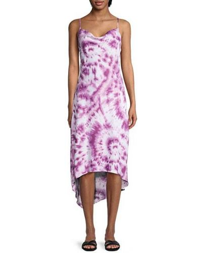 Фиолетовое облегающее платье-футляр с декольте Bcbgeneration