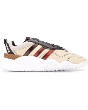 Замшевые кроссовки - белые Adidas Originals By Alexander Wang