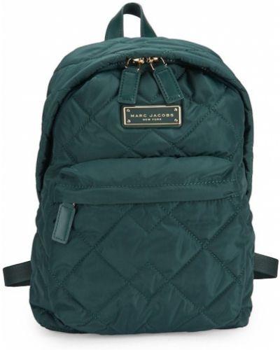 Plecak pikowany - zielony Marc Jacobs
