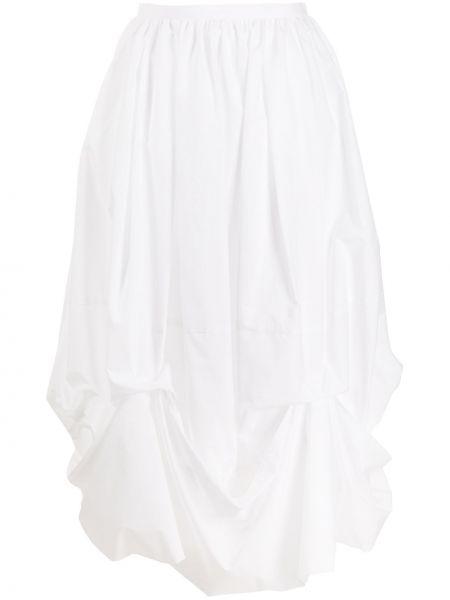 Bawełna biały bawełna spódnica midi Enfold