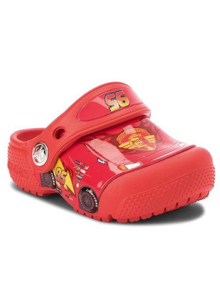 Chodaki - czerwone Crocs