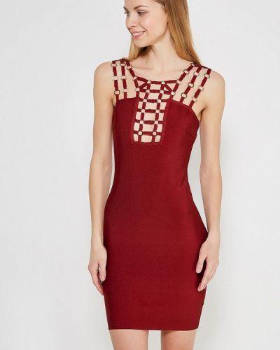 Платье бордовый красный Paccio