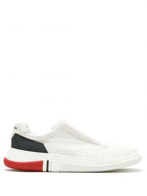 Белые кожаные кроссовки Osklen