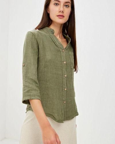 Блузка с длинным рукавом зеленый итальянский Perfect J