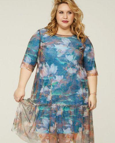 Платье - голубое Gorda Bella