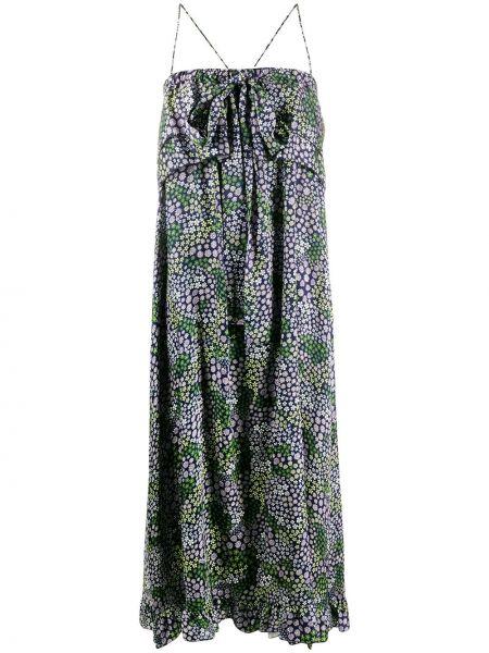 Платье макси на бретелях с цветочным принтом See By Chloe