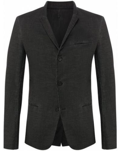 Пиджак с карманами темно-серый Masnada